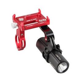 Phone Holders For Bikes Australia - GUB G-88 Universal Bike Handlebar Holder Mount Metal Phone Holder Stand for 4-6 Inch Phone GPS Action Camera Lamp holder