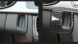 Engine Start Australia - Carbon Fiber Engine Start Button Pushbutton Dashboard Trim for AUDI A5 A4 L16