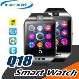 $enCountryForm.capitalKeyWord Australia - Bluetooth Smart Watch Q18 With Camera Facebook Whatsapp Twitter Sync SMS Smartwatch Support SIM TF Card For IOS AndroidPK GT08 DZ09 A1