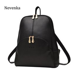 $enCountryForm.capitalKeyWord Australia - Nevenka Women Backpack Leather Backpacks Softback Bags Brand Name Bag Preppy Style Bag Casual Backpacks Teenagers Backpack Sac Y19061102