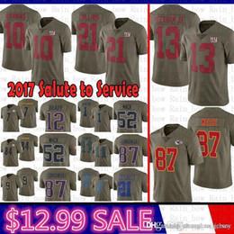 819d0e2c6 best 10 Eli Manning 2017 Salute to Service New York Jersey Gaints 13 Odell  Beckham Jr 21 Landon Collins Kansas City Chiefs 87 Travis Kelce