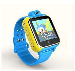 Wcdma Smart Watches Australia - Q730 Kid Watch early education GPS Tracker Watch 3G For Kids SOS Emergency WCDMA Camera GPS LBS WIFI Location Smart Wristwatch touch screen