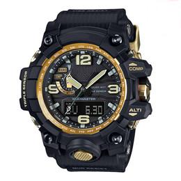 Men S Black Digital Watch Australia - New G style digital watch S Shock Men military military watch waterproof date calendar LED sports watch