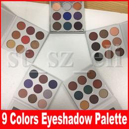 Chinese  New burgundy bronze holiday blue honey purple matte eye shadows Eyeshadow Makeup Pressed Powder Eye Shadow Palette manufacturers