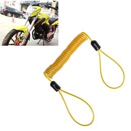 $enCountryForm.capitalKeyWord Australia - 150cm Alarm Disc Lock Security Spring Reminder Cable Motorcycle Bike Scooter 77UE