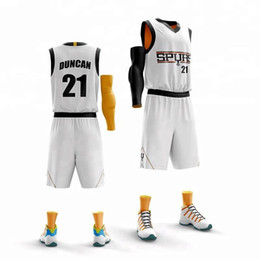$enCountryForm.capitalKeyWord Canada - customize men Basketball Jersey sets number name Sports clothing top shorts team play breathable suit Uniforms print jersey