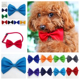 $enCountryForm.capitalKeyWord NZ - Dog tie Neck Ties Dog for christmas festival party Cat Pet Tie Headdress adjustable bow ties tie accessories Dog ApparelT2I5255
