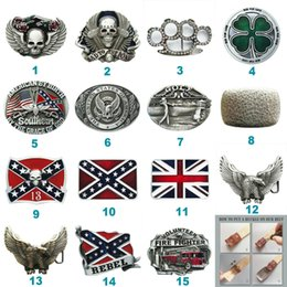 $enCountryForm.capitalKeyWord Australia - New Vintage Costume Cosplay Western Belt Buckle Mix Styles Choice Stock in US Each Buckle is Unique Choose Your Favorite Buckle Design