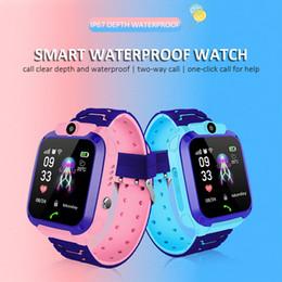 $enCountryForm.capitalKeyWord Australia - Waterproof Q12 Smartwatch Multifunction Children Digital Wrist Watch Baby Watch For IOS Android Kids Toy Gift