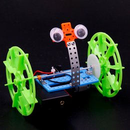 music robots NZ - Technological small-scale invention of children's DIY manual scientific experiment toy two-wheel balancing car robot