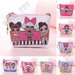 Discount plain dolls - Zipper Purse kids toys handbag lol dolls storage bags Birthday Party Favor for Girls Gift Bag receive package Swimming b
