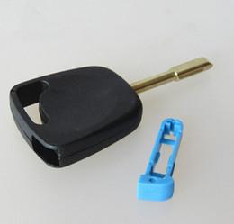 Key Shell For Ford Australia - High quality auto Transponder Key shell with plug for Ford car key case key blank
