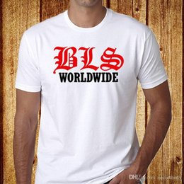 Wholesale Printed T Shirt Pure Cotton Crew Neck Short Sleeve Office Bls Black Label Society Tee For Men