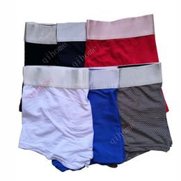 32e0bca01d15 Mesh Breathable Luxury Mens Underwear Man Boxer Briefs Shorts Modal Men's  Trunk Men Boxers Underclothes Cotton Luxury Adult Mens Penis Boxer