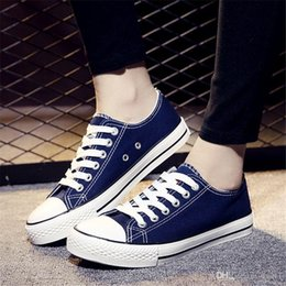 $enCountryForm.capitalKeyWord NZ - 2019 spring summer women's casual shoes fashion canvas shoes breathable women's flat size 34-41