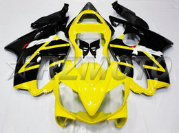 $enCountryForm.capitalKeyWord NZ - OEM Quality New ABS Full Fairings Kits fit for HONDA CBR600RR F4i 2001 2002 2003 01 02 03 600RR Bodywork set Custom Free Black yellow