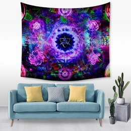$enCountryForm.capitalKeyWord UK - Flower Series 3D Creative Pattern Tapestry Ployester Wall Hanging Tapestry for Wall Decoration Fabric Home Background Cloth Yoga Mats H378