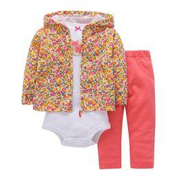 $enCountryForm.capitalKeyWord UK - Autumn Winter Newborn Set,coat+pants+rompers Cotton,toddler Boy Girl Clothing Set,kids Bebes Outfit,infant Baby Clothing 2019 J190706