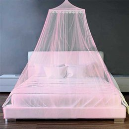 $enCountryForm.capitalKeyWord Australia - Mosquito Net Single and Double Beds Elegant Dome Mosquito Net Insect Full Coverage Home Bedroom Insect Moustiquaire Lit