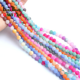 Chinese  ragon veins agate Mysterious Natural Frost Cracked Dream Fire Dragon Veins Agates Round Stone Beads For DIY Making Bracelet Necklace Je... manufacturers
