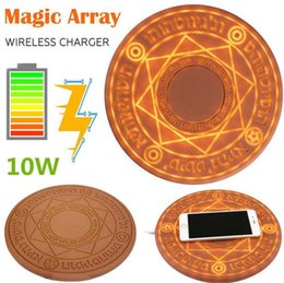 $enCountryForm.capitalKeyWord Canada - Magic Array Wireless Charger Universal Qi Standard 5W Magic Circle Fast Charger Charge pad For iphone 7 8 xs samsung htc android phone