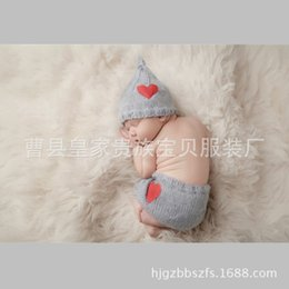 $enCountryForm.capitalKeyWord Australia - New Children's Photo Clothing in Studio New-born Sweaters Hand-knitted Baby Photo Clothing Christmas Suit