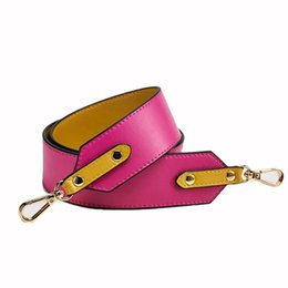 leather housing UK - SFG HOUSE Genuine Leather Women Bag Strap Elegant Lenthened Shoulder Bag Belt Casual Wide Replacement Bags Straps 2017