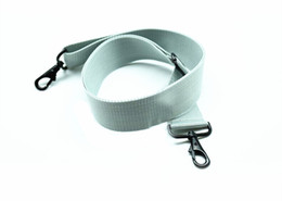 belts Australia - One Piece Adjustable Snare Drum Strap Sling Belt Nylon for Parade Marching light Grey