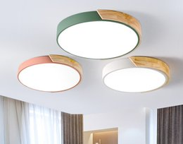 $enCountryForm.capitalKeyWord Australia - LED Ceiling Light Modern Lamp Living Room Lighting Fixture Bedroom Kitchen Surface Mount Flush Ultra-thin LED Panel Light