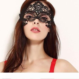 women face mask sex Australia - Sexy lace hollow mask goggles nightclub fashion queen female sex lingerie Cutout Eye Masks for Masquerade Party Mask