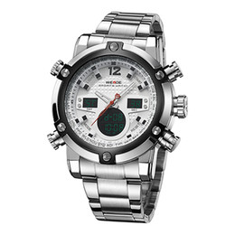 $enCountryForm.capitalKeyWord NZ - WEIDE Men Automatic Digital Electronic Watch LCD Camping Watches Led Quartz Wristwatch Stainless Steel Sport Orologio Clock WH5205