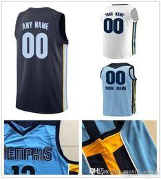 a7f2f781e366 Custom 2019 Basketball Jersey Memphis Garrett Ivan Temple Rabb JaMychal  Justin Green Holiday Mike Marc Conley Gasol Grizzlies Men Jerseys