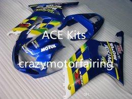 K1 Blue Australia - 3 gifts New SUZUKI GSXR600 750 K1 01 02 03 GSXR 600 GSXR 750 2001 2002 2003 ABS Injection mold Blue 2p