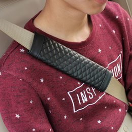 $enCountryForm.capitalKeyWord Australia - 2 pcs Universal Car safety belt pad for cars seat belt cover with shoulder protector cushion Inside Auto interior accessories