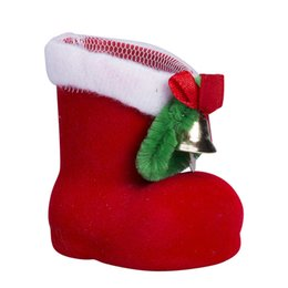 $enCountryForm.capitalKeyWord Australia - Christmas Decorations For Home Lovely Boots Christmas Gifts For Kids Xmas Candy Organazer Gift Bags