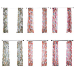 Piece curtains online shopping - 2 pieces of all Dolly digital printing diamond screens modern curtains draped perspective curtains NEW