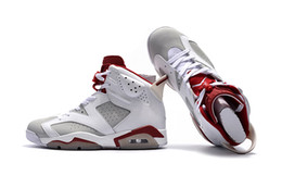 $enCountryForm.capitalKeyWord Australia - Authentic Men's 6 Sports Shoes Red And White 6S Anti-Skid Shock Absorption Comfort