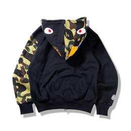 ba917c52a7fe Homme femme manteau de sport jogger sportswear pull pull laine pull col  rond oiseau oeuf drake noir hip hop chapeau homme requin bouche