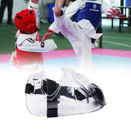Taekwondo proTecTors online shopping - Taekwondo Headguard Helmet Karate Kickboxing Sanda Head Protection With Mask ITF WTF Training Protector Headgear Mask Shield