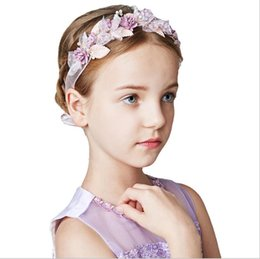 Pink heart stick online shopping - Pink Princess Series Children s Jewelry Girls Simple Hand made Hair Band