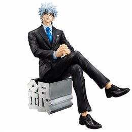 $enCountryForm.capitalKeyWord Australia - 0508 Anime Action Suzannetoyland Anime Gintama Silver Soul MegaHouse G.E.M Sakata Gintoki Suit Ver. PVC Action Figure Collectible Model Kids