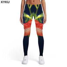 $enCountryForm.capitalKeyWord Australia - KYKU Tuna Leggings Women Animal Spandex Tropical 3d Print Fish Sexy Harajuku Printed pants Womens Leggings Pants Jeggings
