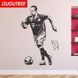 $enCountryForm.capitalKeyWord Australia - Decorate Home football cartoon art wall sticker decoration Decals mural painting Removable Decor Wallpaper G-2065