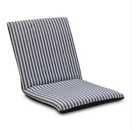 Relax Chairs Australia - Adjustable Relaxing Lazy Sofa Foldable Floor Chair Seat Cushion Lounger Sofa bed Living room furniture Cover