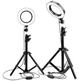 Chinese  LED Ring Light Photo Studio Camera Light Photography Dimmable Video light for Youtube Makeup Selfie with Tripod Phone Holder manufacturers
