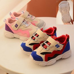 Wholesale Red Shoes Australia - 2019 new kids shoes kids sneakers childrens sneakers kids designer shoes boys basketball shoes girls running shoe A3185