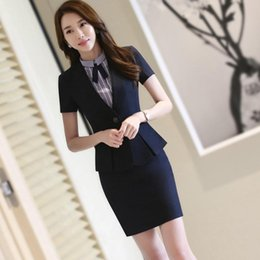 Suits Waistband Australia - dition suit jacket women's new summer thin casual suit of 2019 French waistband Moco is ok