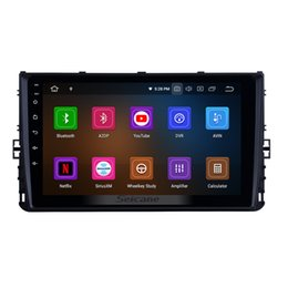 Gps Transmitter 3g NZ - OEM 9 inch HD Touchscreen Car Stereo GPS Navigation for 2018 VW Volkswagen Universal with WIFI Bluetooth support car dvd 3G 4G Rear camera