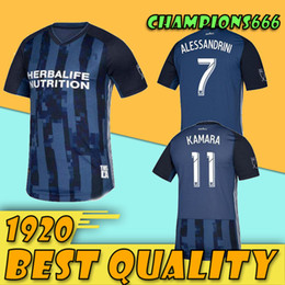 6b445a24240 MLS 2019 Los Angeles Galaxy away Soccer Jersey LA GALAXY away blue Soccer  Shirt Customized   9 IBRAHIMOVIC men football uniform Sales