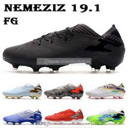 Cheap firm ground football boots online shopping - Cheap Mens Low Ankle Football Boots Nemeziz Firm Ground Cleats Nemeziz Messi Agility FG Outdoor Soccer Shoes